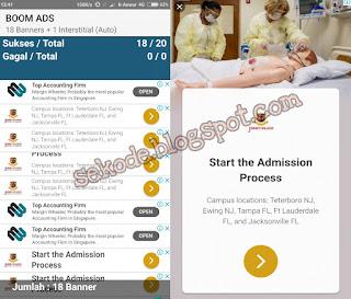 Download Tool Admob Auto Impress Full Fitur
