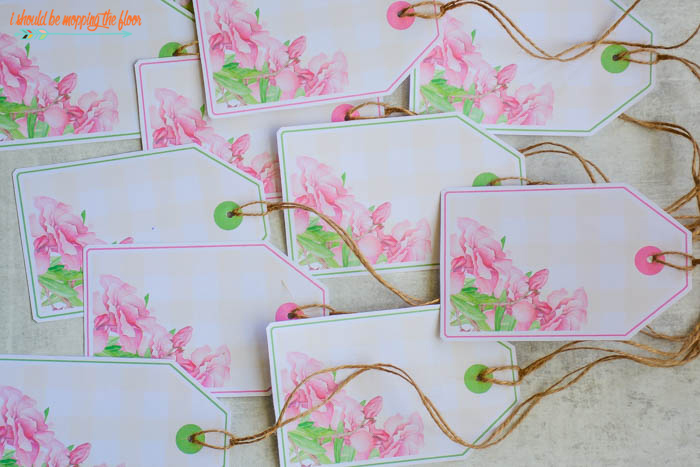 Watercolor Tags for Gifting