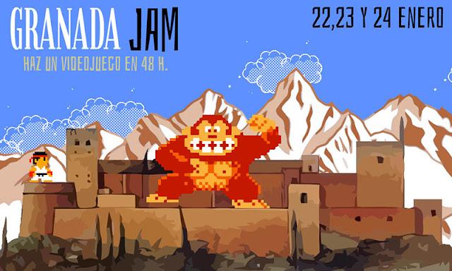 Gran éxito en la celebración de la primera 'game jam' del grupo Granada Jam