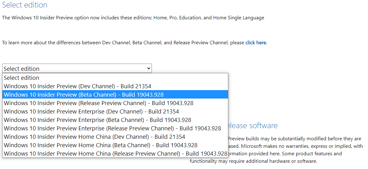 Download ISO Windows 10 21H1