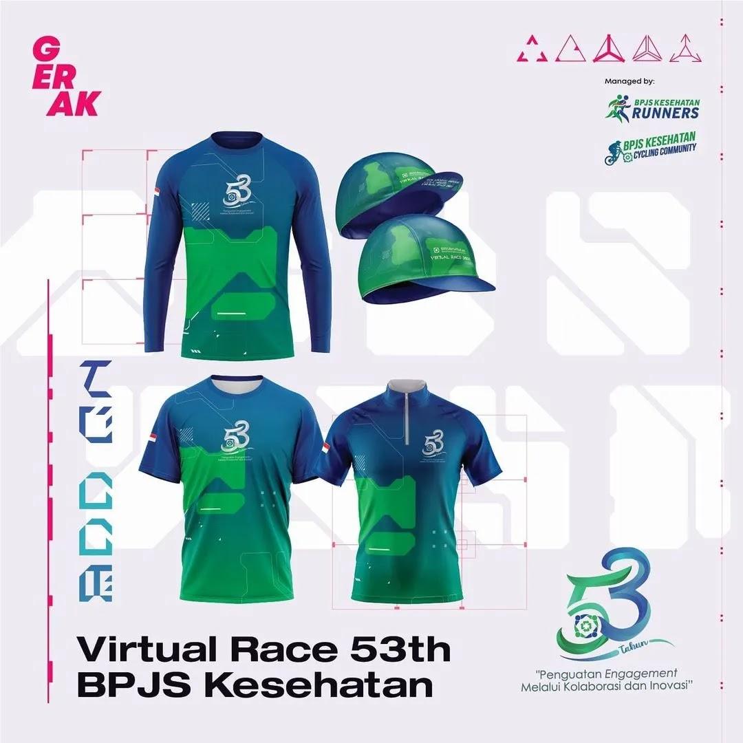 Jersey 👕 Virtual Race 53th BPJS Kesehatan • 2021