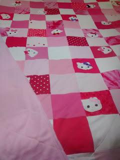 ProsperityStuff Hello Kitty Quilt