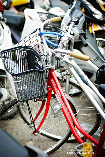 Biking in Chiang Rai