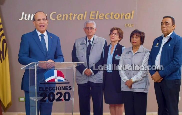 "JCE: ""Pueblo dominicano, te estamos esperando"""