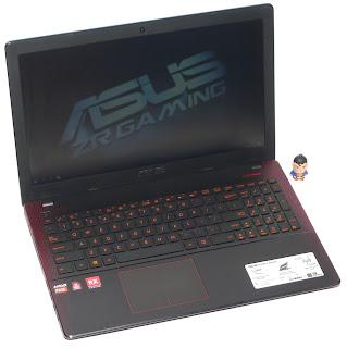 Laptop Gaming ASUS X550IU AMD FX CrossFire Bekas di Malang