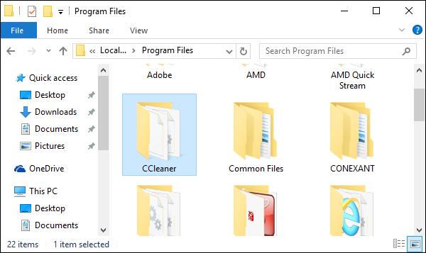 حذف برامج الكمبيوتر من جذورها