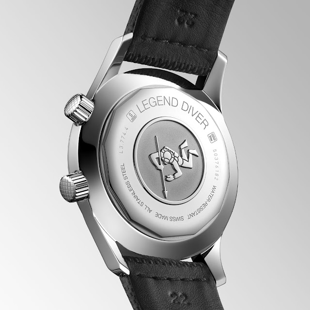 Longines presents two new 2021 Longines Legend Diver 42 mm Watch Replica