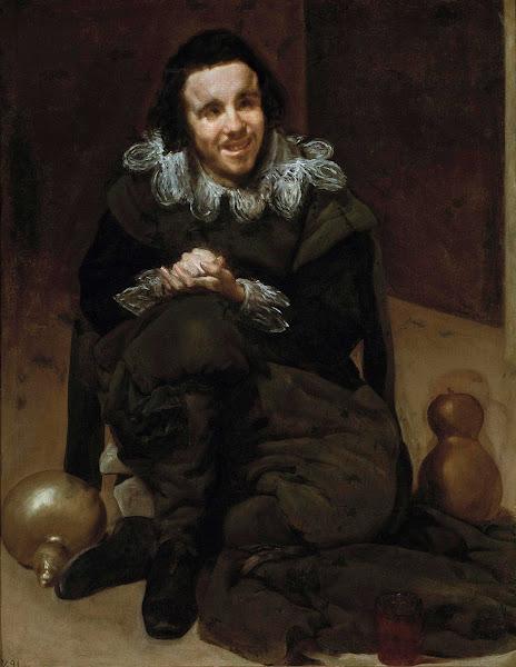 Диего Веласкес - Портрет шута Хуана Калабацилоса (1636-1637)