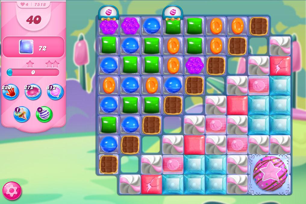 Candy Crush Saga level 7518
