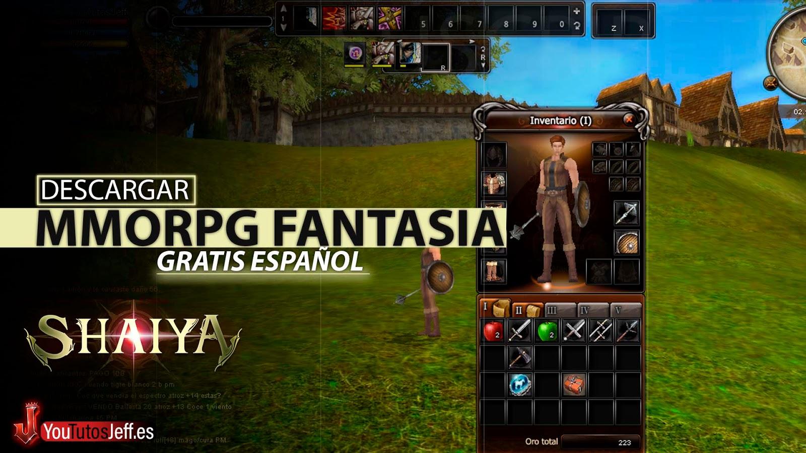 Fantasia MMORGP, Descargar Shaiya Ultima Versión para PC en Español