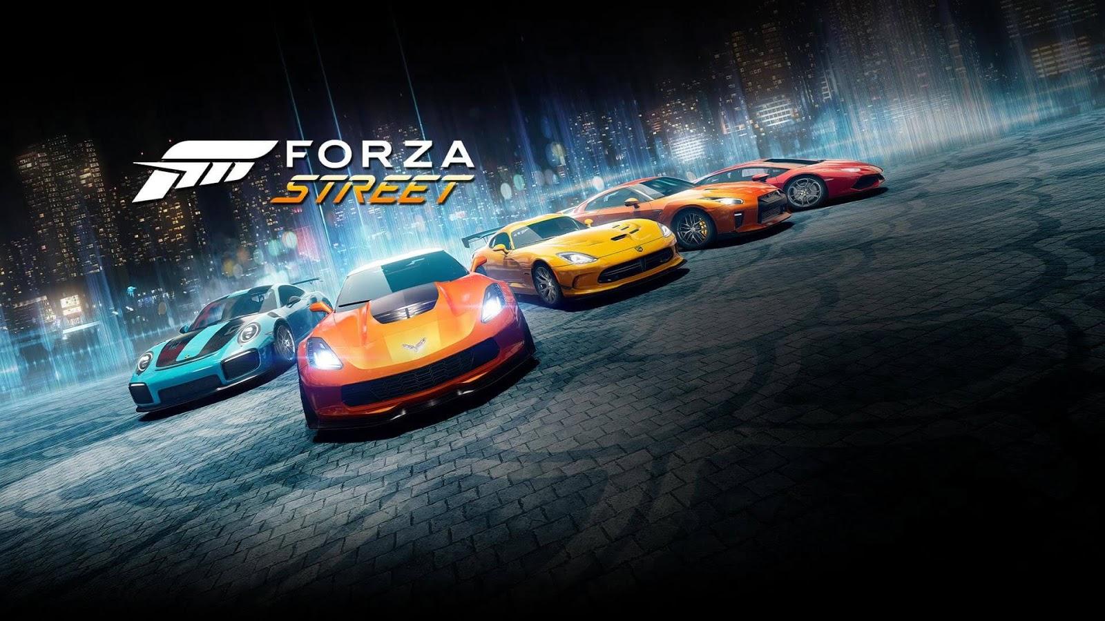 تعرف على شارع فورزا Forza Street متاحة الان على Android