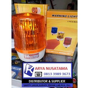 Jual Warning Light 6Inch Kuning 240V-220V di Garut