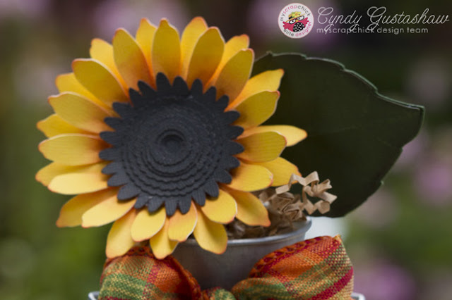 Easy Sunflower Paper Bouquets