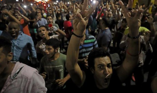بالصور : مصر تستعد لمسيرات سلمية مطالبة برحيل الرئيس المصري عبد الفتاح السيسي