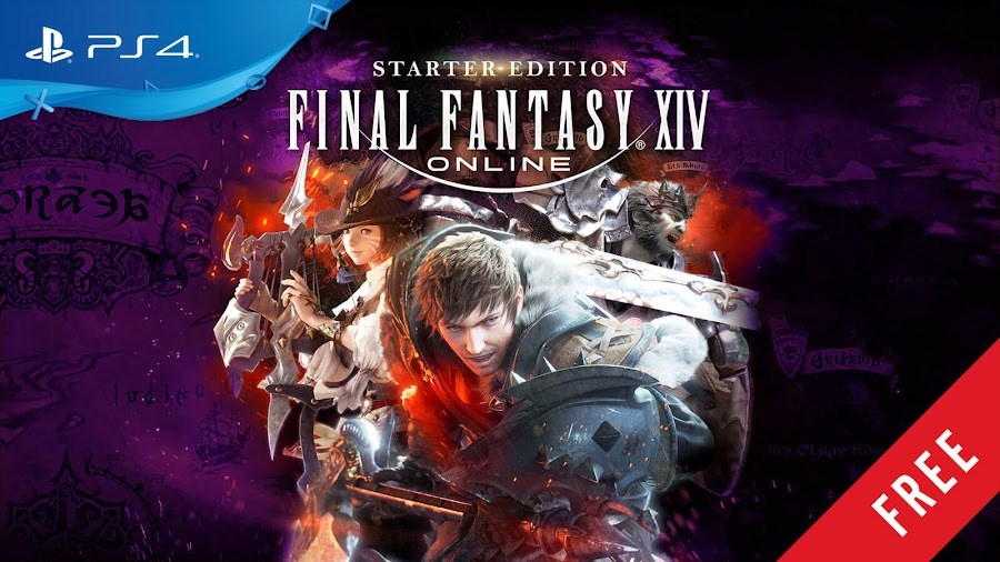final fantasy 14 online starter edition free ps4 game ps store 2014 massively multiplayer online role-playing game mmorpg square enix