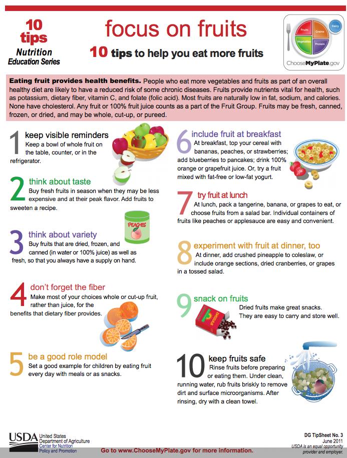 List Low Potassium Foods To Eat