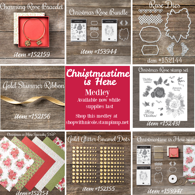 Stampin' Up!'s Christmastime is Here Medley product images