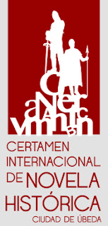 Cartel del Festival de novela historica de Ubeda