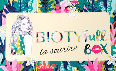 BIOTYfull Box de Septembre 2019 : La Sourire