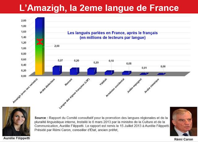 اللغة الامازيغية فرنسا
