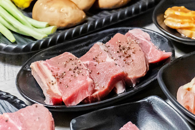 MG 3640 - 熱血採訪│台中人氣日式炭火燒肉吃到飽!限時加價不用百元就能享有和牛吃到飽,還有比臉大牛排任你吃