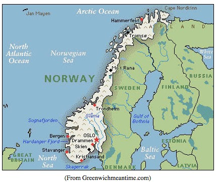 a geography of the kingdom of norway Geography of argentina argentina also asserts claims to several south atlantic islands administered by the united kingdom with a population of more than 421.
