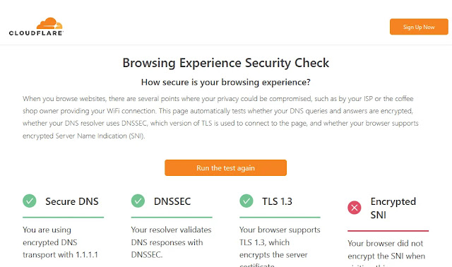 Mengaktifkan DNS Over HTTPS di Chrome