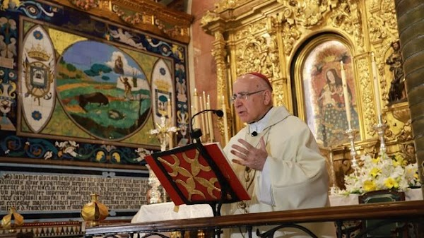 El obispo de Huelva habla de esperanza y espera el final de la pandemia