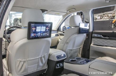 interior Hyundai Palisade VIP 2021 - asalasah.com