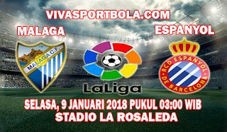 Prediksi Malaga vs Espanyol 9 Januari 2018