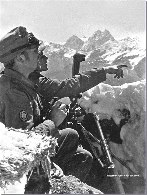 German mountain rangers  mountains  Caucasus 1942