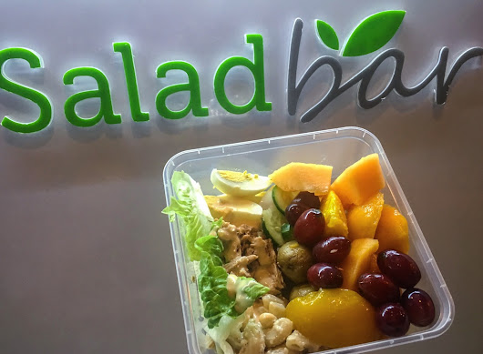 Make Your Own Salad at Salad Bar