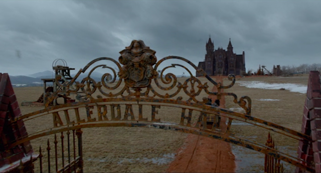 Allerdale Hall in CRIMSON PEAK (2015).