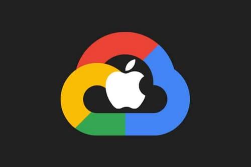 8 million terabytes of iCloud user data is stored on Google servers