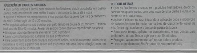 Tinta de Cabelo Bio Extratus 11.00