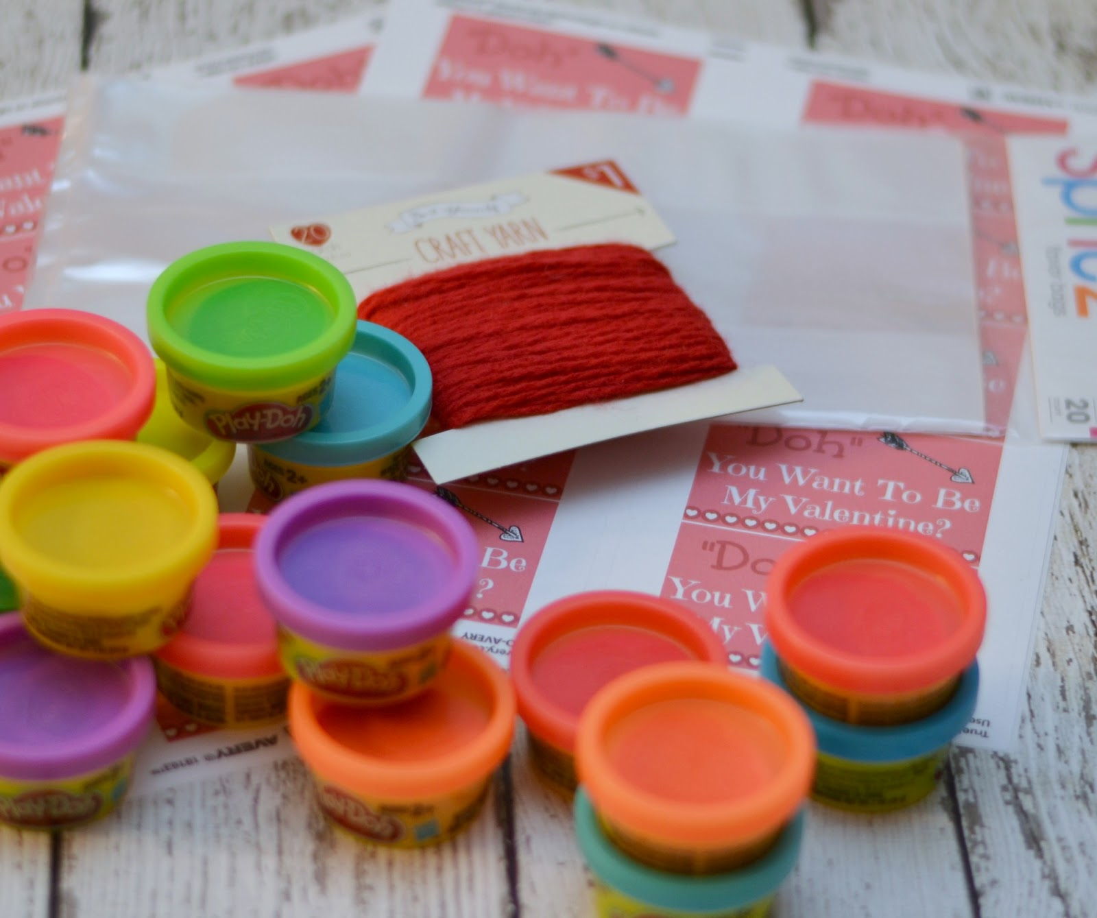 """Play-Doh Valentine - """"Doh"""" You Want To Be My Valentine? Printable.  Fun Valentine Ideas.  Easy last minute Valentine's.  Play-dough valentines."""