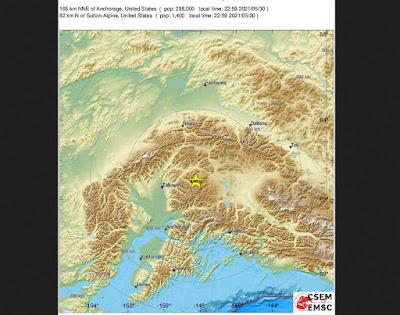 6.1-Magnitude Earthquake Hits Central Alaska