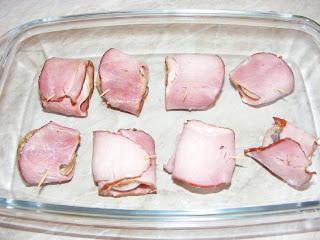 Reteta ciuperci infasurate in bacon preparare,