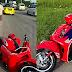 'Kenapa Allah SWT patahkan motosikal? Kenapa Allah tidak patahkan kamu?' - Bapa tegur anaknya keluar & guna motosikalnya tanpa izin