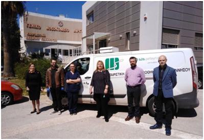 Δωρεά υγειονομικού υλικού από τον Φαρμακευτικό Σύλλογο Αργολίδας στα Νοσοκομεία του Νομού