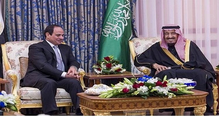 الملك سلمان يرد شخصيا على إهانه إياد مدني للرئيس السيسي