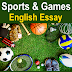 Essay Sports and Games English Essay