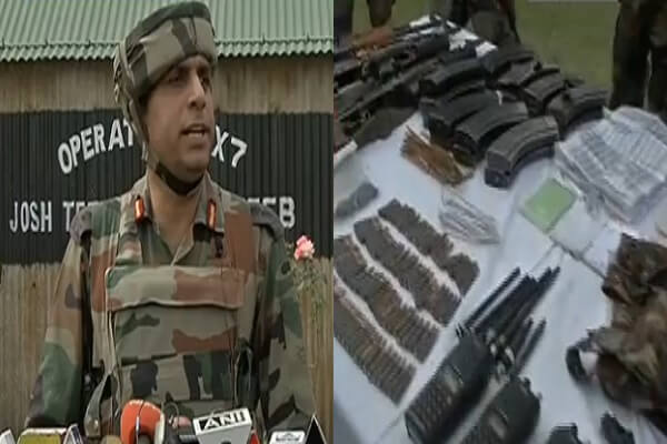 Kupwara terrorist attack on army camp, 3 Pakistani terrorists killed