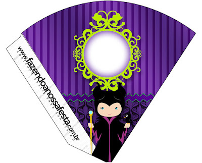 Maleficent Baby Party: Free Party Printables.