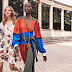 #Editorial @MGallegosGroupNews Natalia Vodianova & Anok Yai by Tory Burch Spring Summer 2020 Looks .