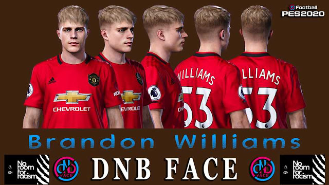 PES 2020 Brandon Williams Face by DNB