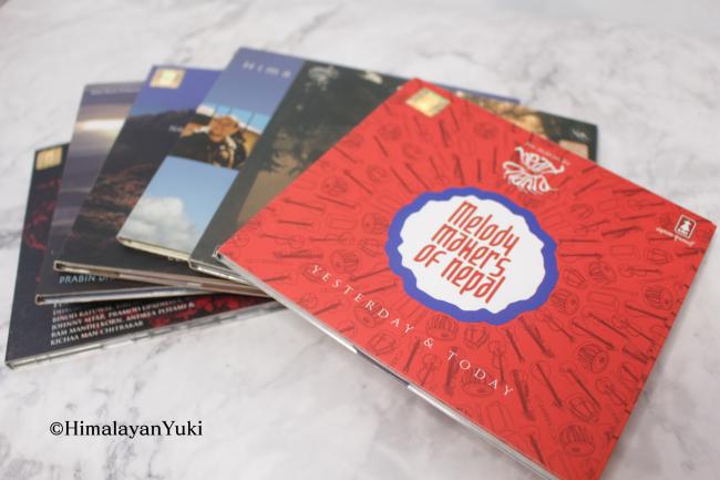 ヒマラヤンユキフェアにてネパール・インドのCDお安く販売します