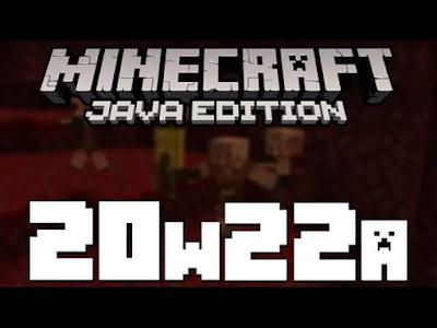 Minecraft JAVA EDITION: SNAPSHOT 20W22A Yenilikleri