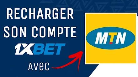 Comment recharger son compte 1xbet avec MTN Mobile Money