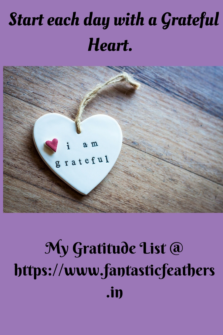 fantastic feathers gratitude list for march 2018 gratitudecircle